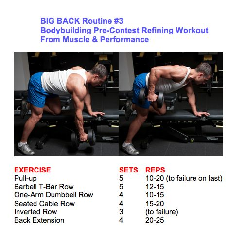 25+ Best Ideas About Big Back Workout On Pinterest
