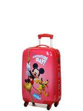 Valise rigide Mickey Aventure 55 cm Rouge