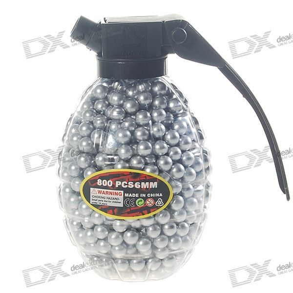 The 6mm BB white plastic bullets is specifically designed for the BB gun. With the bullets, you will get a great of fun to shot. These 6mm bullets are a must for your BB gun. http://j.mp/1totOob