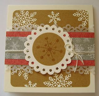 HANDMADE BY LUCY: Vianočná nádielka :)