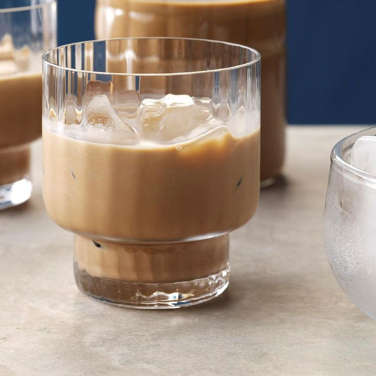 Easy Irish Cream Recipe -Stir up this fast and easy recipe for a potluck brunch. There's plenty of coffee flavor in every cozy cup.—Anna Hansen, Park City, Utah