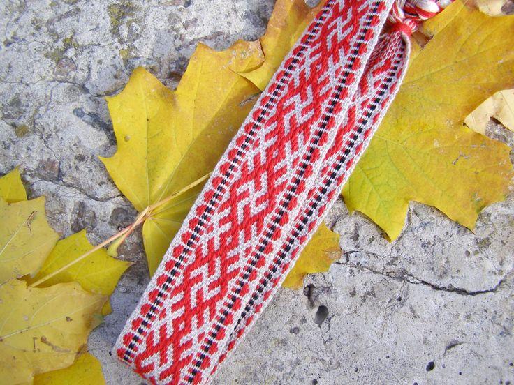 Made to Order Jarga Headband, Kolovrat, Handmade Woven Headband, Woven Trim, Woven Belt, Russian Belt by WovenSlavicBelts on Etsy