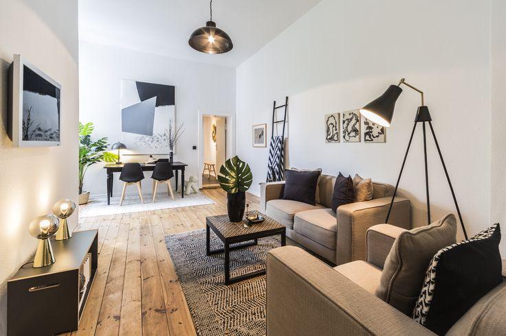 Homestaging in unserer Altbauwohnung in der Liegnitzer Straße.
