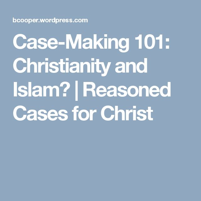Comparison grid between Christianity and Islamic doctrine carm - comparison grid template