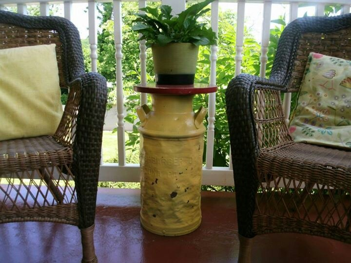 Top 25 ideas about milk can table on pinterest milk can for Milk can table ideas