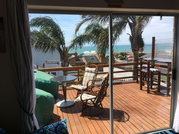 Beach Gypsy - The Deck - Sean & Collette look forward to welcoming you in their charming self catering beach flatlet with a stunning sea view! The Deck is a downstairs unit and is a pleasant fully furnished flatlet with a private ... #weekendgetaways #jeffreysbay #kougacountry #southafrica