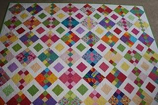 quilt: Quilts Inspiration, Mom Quilts, Crazy Mom, Quilts Blocks, Colors Quilts, Bright Quilts, Scrappy Quilts, Quilts Ideas, Bright Colors