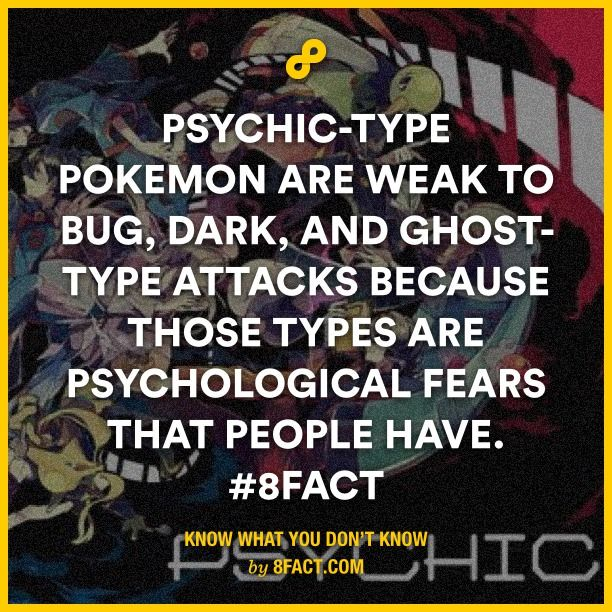 Psychic-type Pokemon are weak to bug, dark, and ghost-type attacks because those types are what people have.