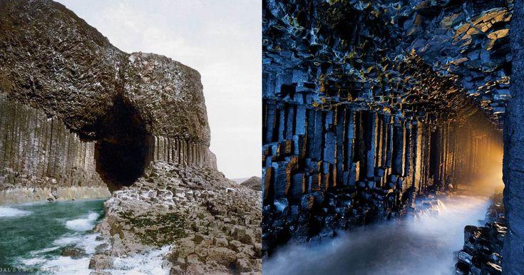 La Grotta Fingal è una grotta marina sull'isola disabitata di Staffa, nelle Ebridi interne della Scozia, nota per la sua naturale acustica.