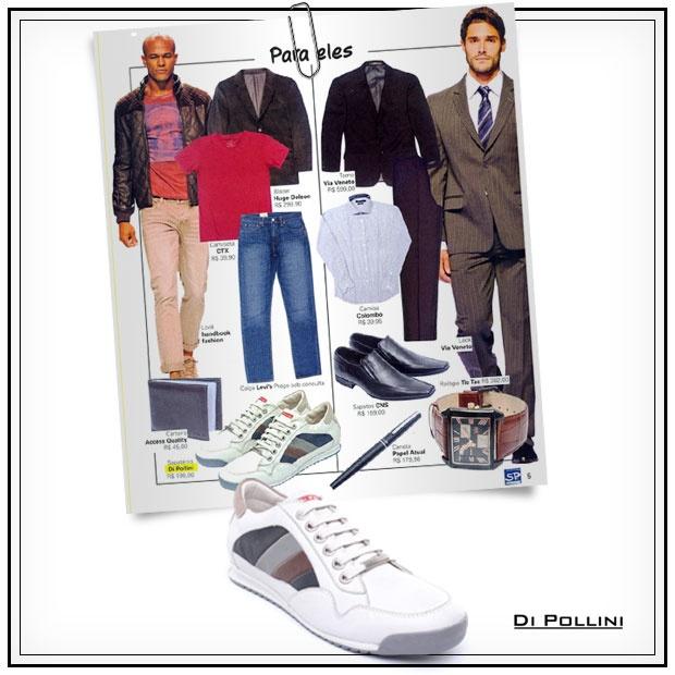 Se você curte um estilo mais despojado para usar no dia-a-dia, vai gostar da dica que saiu na seção SP Fashion Guide da Folha de S. Paulo. E é claro, que a Di Pollini não poderia faltar entre as marcas indicadas para completar o seu vestuário.