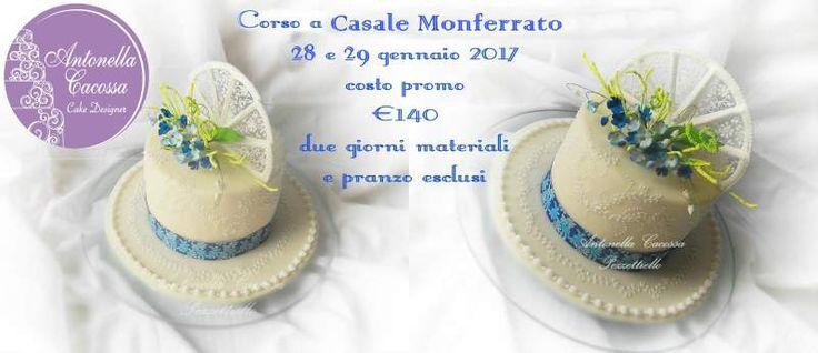 Corso di cake design a Casale Monferrato