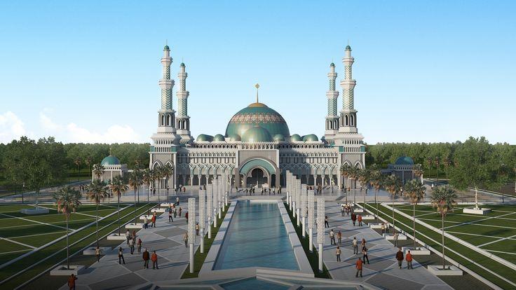 Masjid Mempawah, Asia Raya Studio, 2016