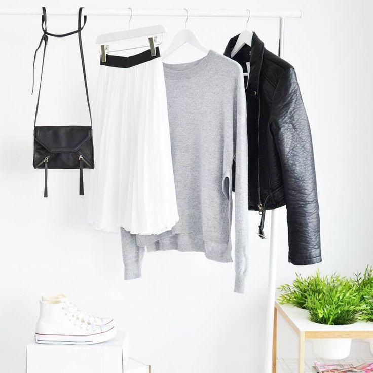 JACKET BIKER BLACK I MONASHE>PL - Sklep online z modna odzieza