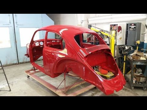 Classic VW BuGs '65 Body Off Build A BuG How to Paint your Beetle | Classic VW Beetles & BuGs Restoration Site by Chris Vallone