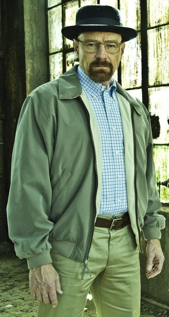 Bryan Cranston as Walter White in Season 5 of 'Breaking Bad' -- Costume Designer: Kathleen Detoro