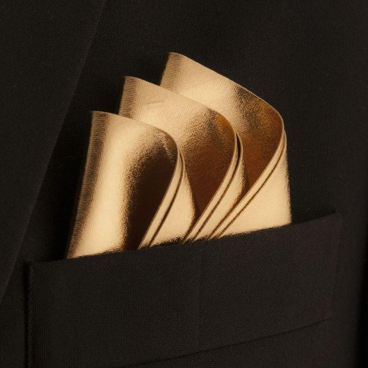 Groom Pocket Square, like the fold design