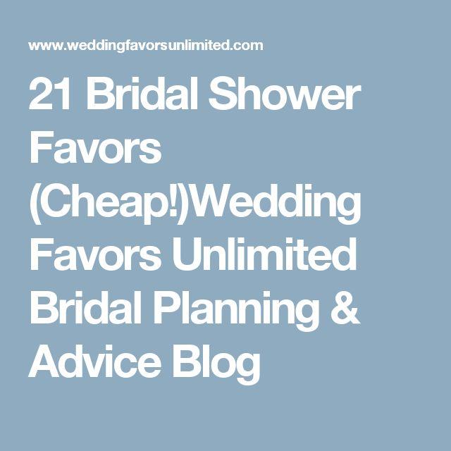 21 Bridal Shower Favors (Cheap!)Wedding Favors Unlimited Bridal Planning & Advice Blog