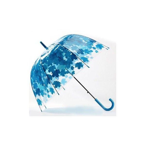 Colorful Parasol Leaves Umbrella Transparent Mushroom Arch Tree Bubble... ($8.28) ❤ liked on Polyvore featuring accessories, umbrellas, blue, leaf umbrella, bubble umbrellas, multicolor umbrella, see through umbrella and multi colored umbrellas