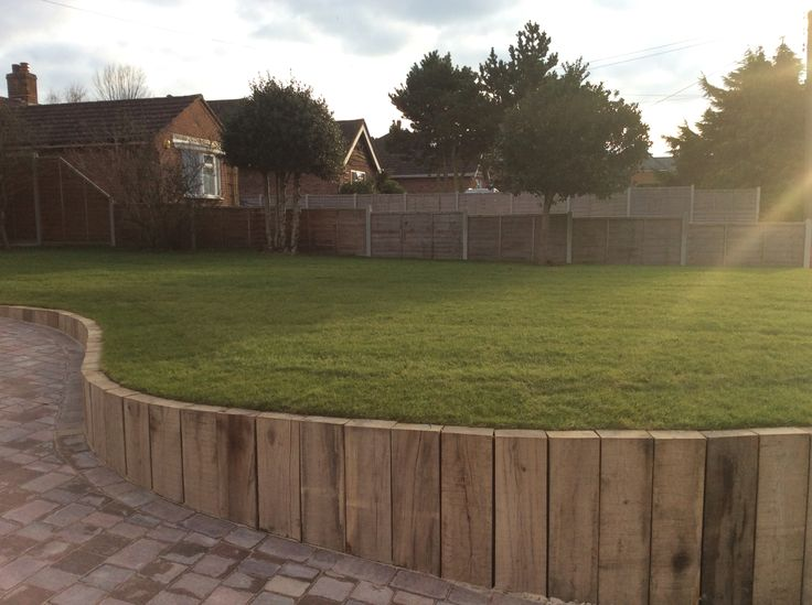 17 Best Images About Driveways On Pinterest Oak Sleepers