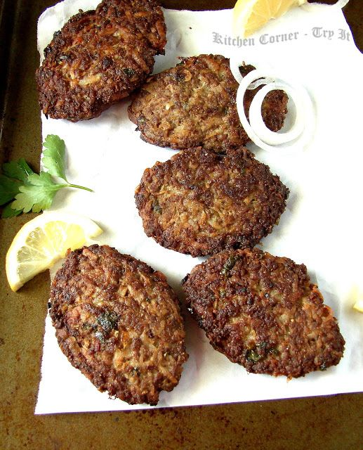 Persian Kotlet     Persian kotlets is meat patties made with minced beef/chicken and grated potatoes. It is tasty and tender meat patti...