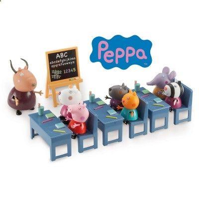 Figurines Peppa Pig : La classe avec 7 personnes - Giochi-4962