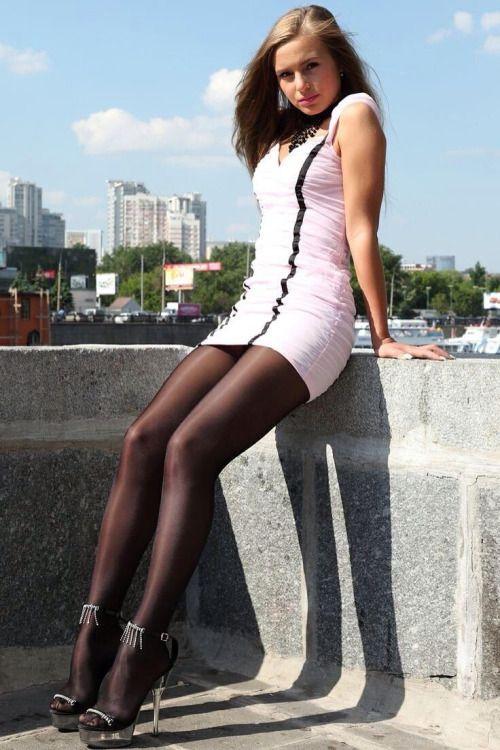 Long Sexy Nyloned Legs 21