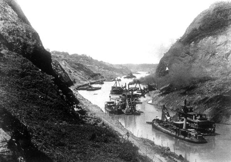 the historical construction of the panama canal Gaton upper locks, august 5, 1911 ninety-nine years ago thursday, the panama canal officially opened when the ship ancon traversed it from end to end—more than three decades after construction had started.