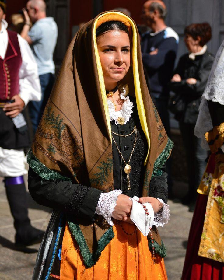 Sant'Efisio 2017 Cagliari Sardegna Costume di Selargius