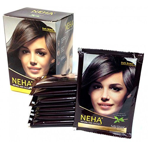 Neha Natural Hair Color Free From Harmful Chemicals  No Side Effects 150 Gram Dark Brown >>> You can get additional details at the image link.