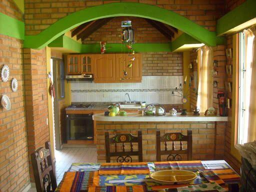 Ideas para la decoraci n de cocinas campestres para m s for Cocinas campestres