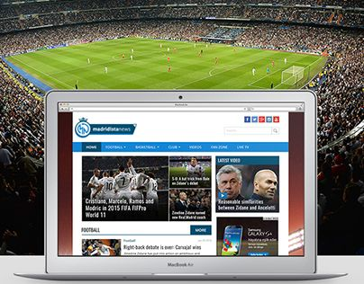"Check out new work on my @Behance portfolio: ""Madridista News Online News Portal Website"" http://be.net/gallery/36364751/Madridista-News-Online-News-Portal-Website"