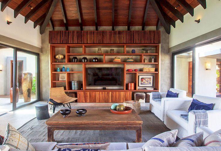 #luxuryvacation#luxuryvilla#mexico#puntamita#beach#travel#vacations#beach#amazing#rest#getaway#lacurevillas#livingroom