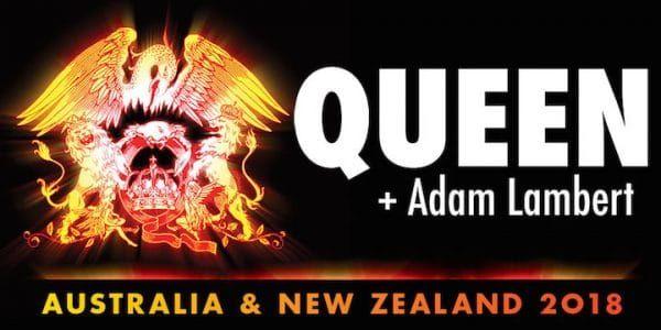 2017-06-13 Queen   Adam Lambert announce tour in Australia/New Zealand