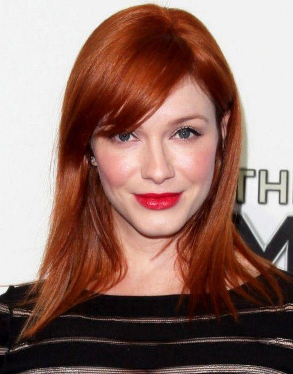 Beyaz Tenliler İçin Kızıl Saç Modelleri