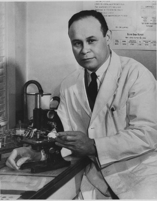 Dr. Charles Drew found a way to preserve and store blood, which led to his starting the world's first blood bank.