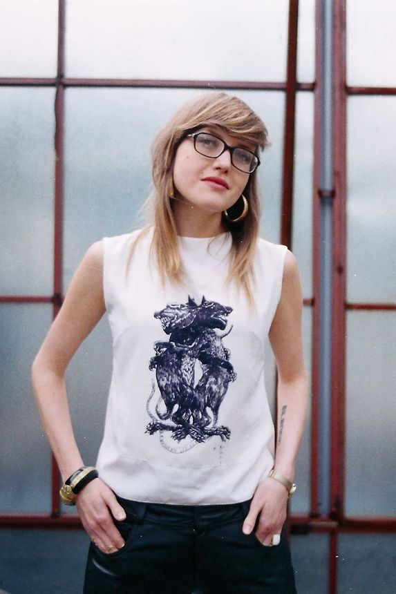 Denise Gutiérrez (Lo Blondo), singer of the mexican band Hello Seahorse!