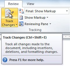 Before Google Docs (and better than Google Docs) there was Track Changes. Learn how to use this function in MS Word and it will improve editing and group work substantially!