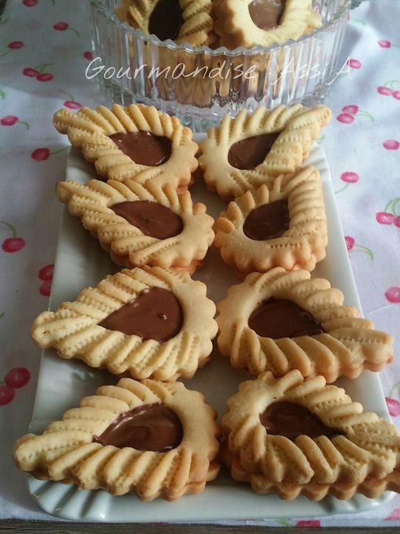 Biscuits à la gelée d'Orange Sanguine ou au Chocolat