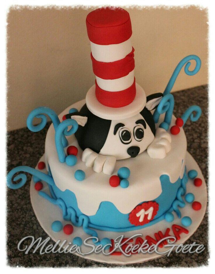 Cat in a hat cake