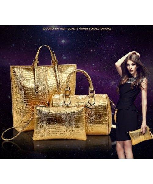 #Tasimport #TasKorea P099 GOLD di #Supplier #TasWanita #Grosir, #Promo #Bag #Fashion #Tasimport24 #BBM (2BD4DBB5) http://www.tasimport24.com/p099-goldMaterial : PU leather Height:    35cm Length:    37cm Depth:     10cm Bag Mouth:  Zipper    Long Strap:   yes 1  kg   ..