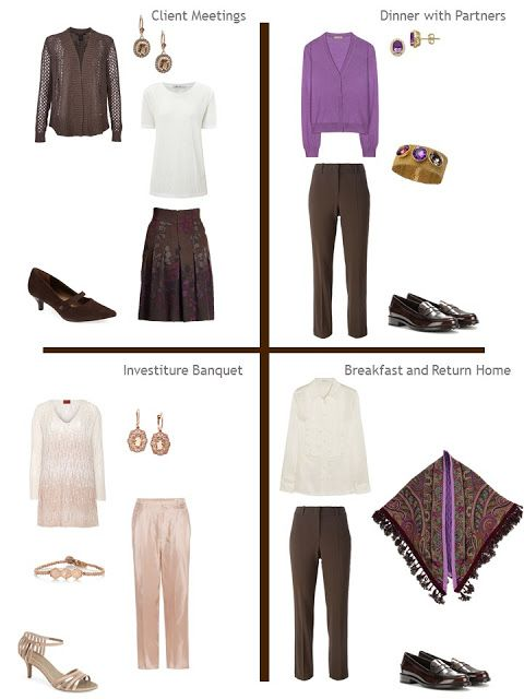 Building A Capsule Wardrobe By Starting With Art: Amethyst