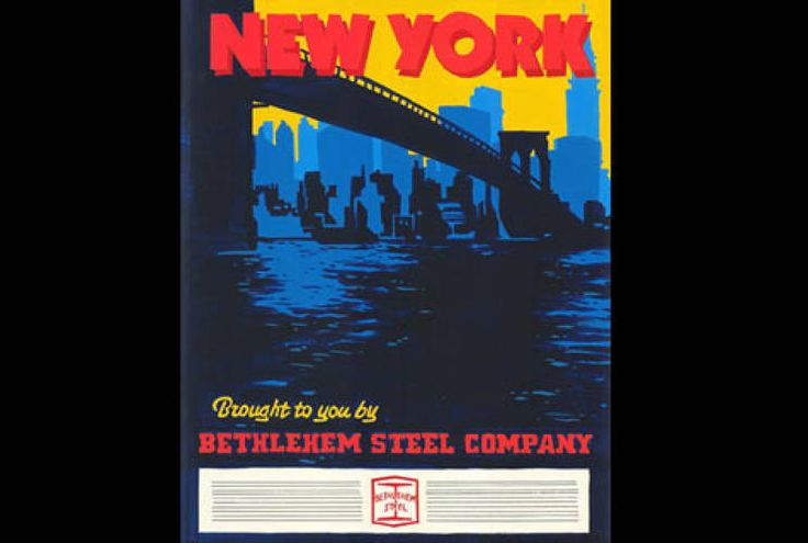 bethlehem steel advertising - from Mad Men Season 1