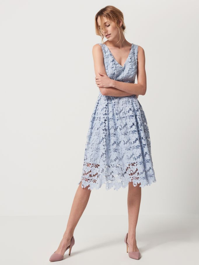 Koronkowa sukienka CELEBRATION , MOHITO, QN480-05X