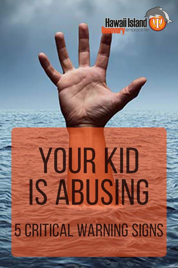 5 Critical Warning Signs Your Kid Is Abusing  | #addiction #recovery #drugrehab #alcoholabuse #hawaii