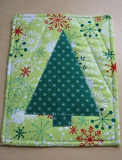 Christmas Tree Hot Pad