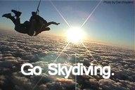 skydiving!!