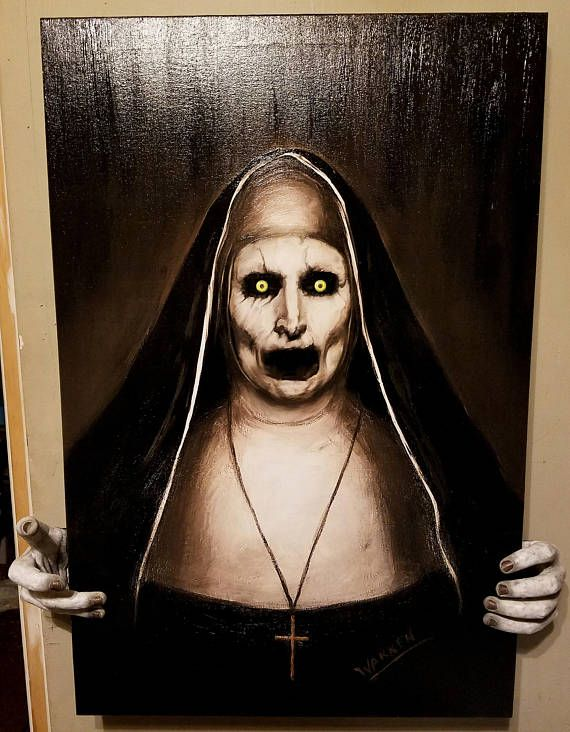 The Conjuring Nun VALAK painting