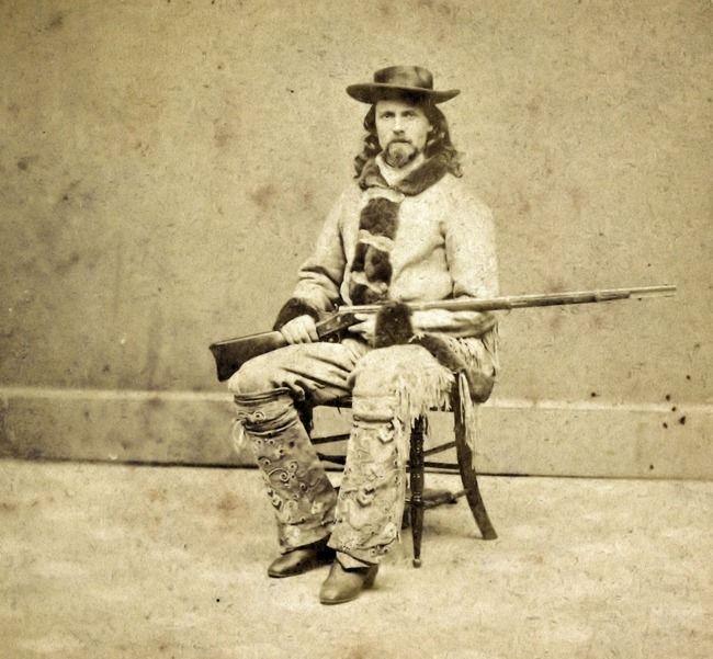 Buffalo Bill before he mounted for the Grand Start / E. L. Eaton, photographer, Omaha, Nebraska.Buffalo Bill