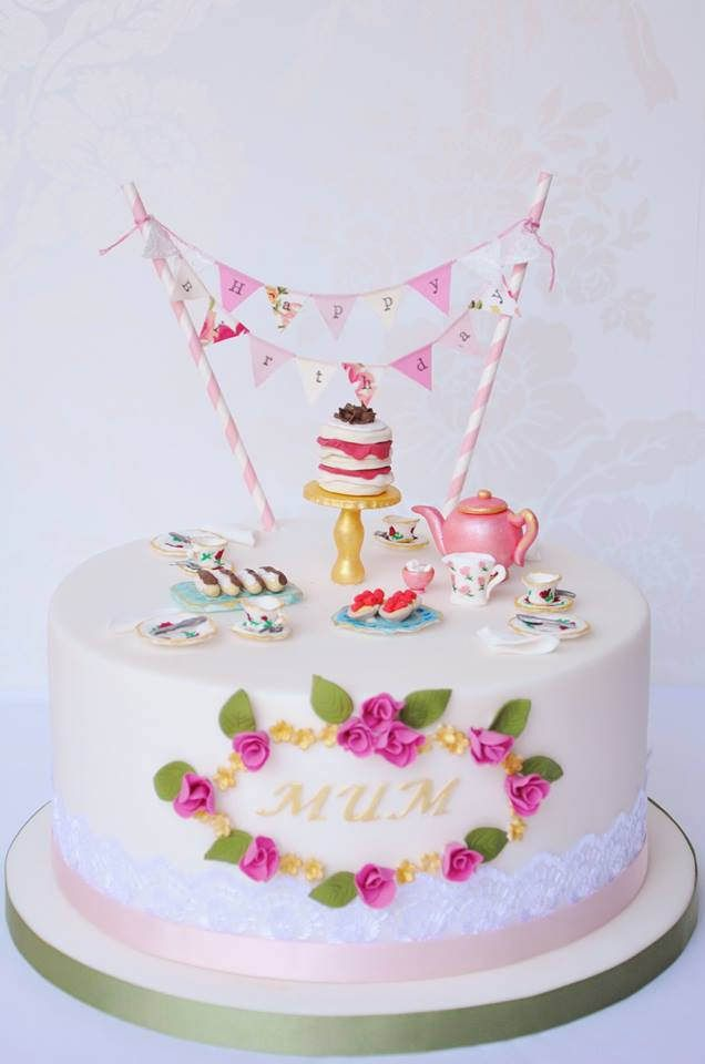 Birthday Cake Bunting Stunning By Mrs Robinsons Cakes X