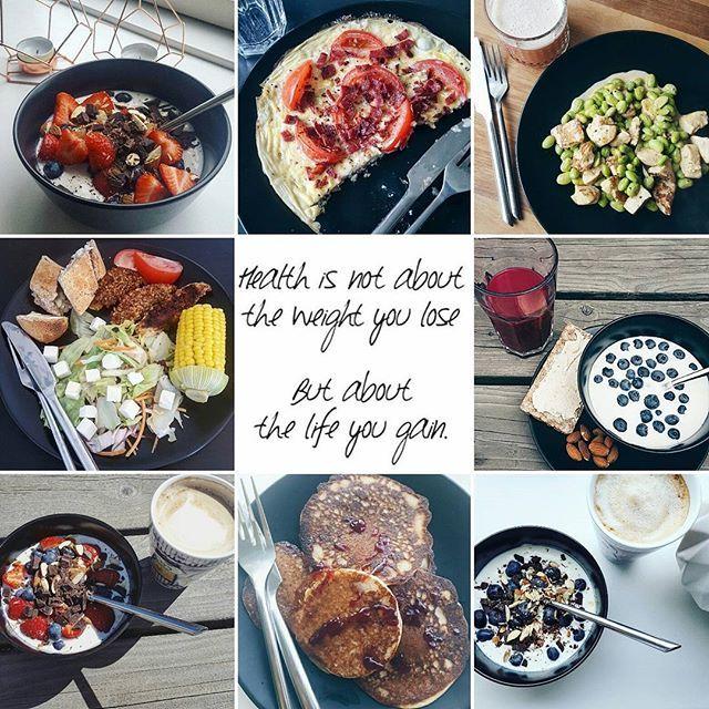 Sundhed er meget mere end vægttab. Det ved de fleste heldigvis godt, men det har taget mig mange år at indse at sundhed ikke nødvendigvis er lig med en tynd eller fit krop eller at sundhed ikke altid er det samme som lykke.  I dag vil jeg leve det gode liv. 💙 Hvor jeg får sved på panden fordi jeg elsker at træne og fordi min krop fortjener det. 💚 Hvor jeg spiser sundt fordi det føles godt og giver mig næring til at leve mit liv. 💛 Hvor der er plads til at drikke et glas rødvin og spise et…